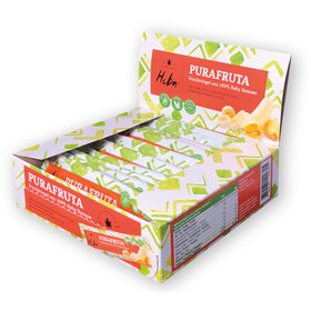 Hiba Purafruta Energy Bar Box 12x30g, Baby Banana